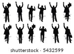 happy businessmen | Shutterstock . vector #5432599