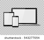 laptop vector illustration... | Shutterstock .eps vector #543277054