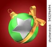 3d illustration of green... | Shutterstock . vector #543296494