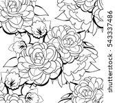 abstract elegance seamless... | Shutterstock .eps vector #543337486