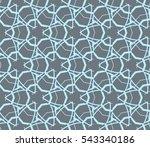 modern geometric seamless... | Shutterstock .eps vector #543340186