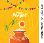 south indian traditional...   Shutterstock .eps vector #543361168