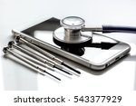 concept repair digital gadgets... | Shutterstock . vector #543377929