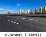 beautiful cityscape in wenzhou  ... | Shutterstock . vector #543384586