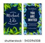 floral background for... | Shutterstock .eps vector #543396508