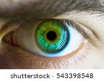 Man Macro Green Eye
