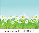 summer vector background.   Shutterstock .eps vector #54342940