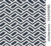 seamless geometric pattern in... | Shutterstock .eps vector #543443980