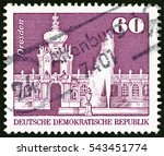german democratic republic  ... | Shutterstock . vector #543451774