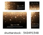 set of different size banners... | Shutterstock .eps vector #543491548