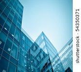 blue glass modern business... | Shutterstock . vector #54350371