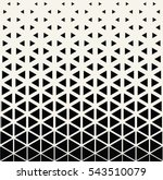abstract geometric black and... | Shutterstock .eps vector #543510079