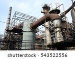 factory and equipment | Shutterstock . vector #543522556