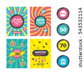 sale website banner templates.... | Shutterstock .eps vector #543532114