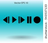 buttons for music playback...
