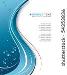 abstract background. vector...   Shutterstock .eps vector #54353836