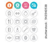 universal icons. fitness... | Shutterstock .eps vector #543540538