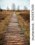 tourist trail in a rural... | Shutterstock . vector #543557650