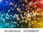 glittering shine bulbs lights... | Shutterstock . vector #543568639
