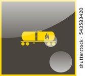 railroad oil petroleum tank...   Shutterstock .eps vector #543583420