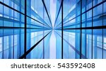 structural glazing. reworked... | Shutterstock . vector #543592408