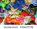 Colorful Cotton Craft Threads...