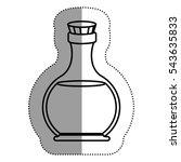 oil flask of spa center  design | Shutterstock .eps vector #543635833