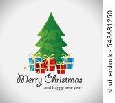 christmas tree greeting card  ...