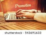 promotion  business concept   Shutterstock . vector #543691633