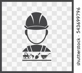 builder vector icon. set.... | Shutterstock .eps vector #543699796
