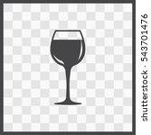 wineglass  vector icon....