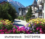 Chamonix Mont Blanc Village...