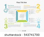 vector elements for infographic.... | Shutterstock .eps vector #543741700