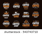 coffee logo. vector labels and...