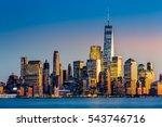 Lower Manhattan At Sunset...