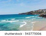 people swimming at tamarama... | Shutterstock . vector #543775006