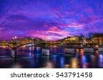 Pont Des Arts Bridge By The...