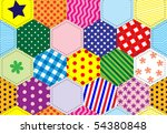 An Illustration Of A Patchwork...