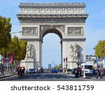 paris  france october 19 ...   Shutterstock . vector #543811759
