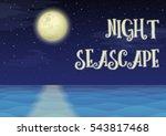 landscape  night seascape ...