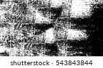 grunge black and white urban... | Shutterstock .eps vector #543843844