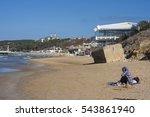 Turkish Beach Landscape With...