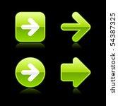 metal glossy green web 2.0... | Shutterstock .eps vector #54387325