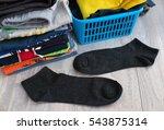 men's socks on the background... | Shutterstock . vector #543875314