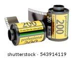 camera film rolls  3d rendering ... | Shutterstock . vector #543914119
