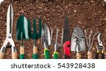 gardening equipment. | Shutterstock . vector #543928438