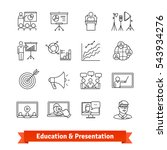 online education   academic... | Shutterstock .eps vector #543934276