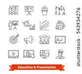 online education   academic... | Shutterstock .eps vector #543934276