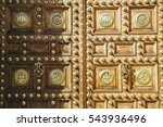Detail Of The Door Ornaments...