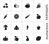 set of 16 editable cooking...   Shutterstock . vector #543940693
